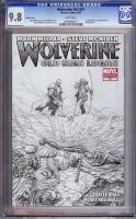 Wolverine Vol 3 #67 CGC 9.8 w Sketch Cover