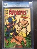 Avengers #40 CGC 9.2 ow/w