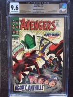Avengers #46 CGC 9.6 ow/w Don/Maggie Thompson Collection