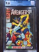 Avengers #51 CGC 9.6 ow/w