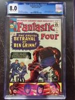 Fantastic Four #41 CGC 8.0 ow/w