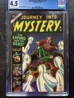 Journey Into Mystery #13 CGC 4.5 ow/w