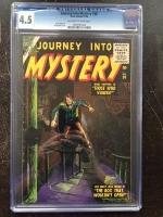 Journey Into Mystery #38 CGC 4.5 ow/w