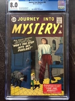 Journey Into Mystery #80 CGC 8.0 cr/ow