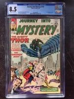 Journey Into Mystery #101 CGC 8.5 ow/w