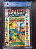 Justice League of America #38 CGC 9.8 w