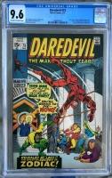 Daredevil #73 CGC 9.6 ow/w