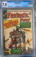 Fantastic Four #26 CGC 7.0 ow/w