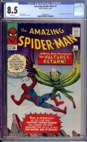 Amazing Spider-Man #7 CGC 8.5 w