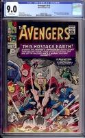 Avengers #12 CGC 9.0 ow