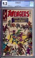 Avengers #24 CGC 9.2 ow/w