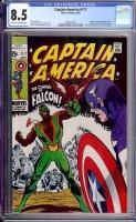 Captain America #117 CGC 8.5 ow/w