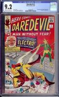 Daredevil #2 CGC 9.2 ow/w