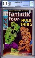 Fantastic Four #112 CGC 9.2 w