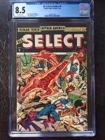 All Select Comics #8 CGC 8.5 ow