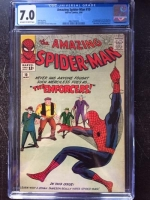 Amazing Spider-Man #10 CGC 7.0 ow/w