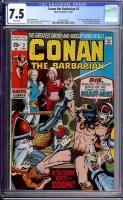Conan The Barbarian #2 CGC 7.5 w