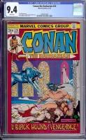 Conan The Barbarian #20 CGC 9.4 w
