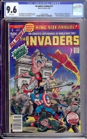 Invaders Annual #1 CGC 9.6 w