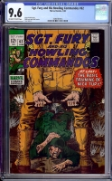 Sgt. Fury and His Howling Commandos #62 CGC 9.6 ow/w