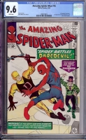 Amazing Spider-Man #16 CGC 9.6 w