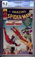 Amazing Spider-Man #17 CGC 9.2 ow/w