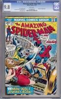 Amazing Spider-Man #125 CGC 9.8 w