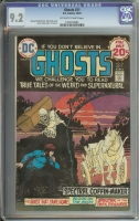 Ghosts #31 CGC 9.2 ow/w
