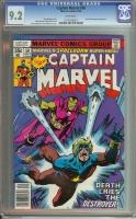Captain Marvel #58 CGC 9.2 w