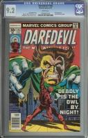 Daredevil #145 CGC 9.2 w