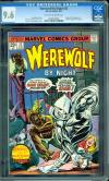 Werewolf By Night #32 CGC 9.6 ow/w