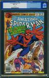 Amazing Spider-Man #186 CGC 9.6 w