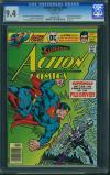 Action Comics #464 CGC 9.4 w