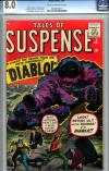 Tales of Suspense #9 CGC 8.0 cr/ow