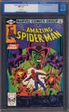 Amazing Spider-Man #207 CGC 9.6 w