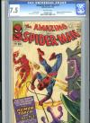 Amazing Spider-Man #21 CGC 7.5 ow