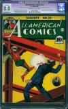 All-American Comics #22 CGC 8.0 ow/w
