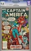 Captain America #289 CGC 9.8 w