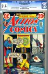 Action Comics #422 CGC 9.4 cr/ow