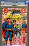 Action Comics #500 CGC 9.6 ow/w