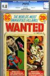 Wanted #9 CGC 9.8 w