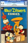 Walt Disney's Comics and Stories #154 CGC 9.0 w