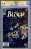 Batman #496 CGC 9.8 w CGC Signature SERIES