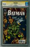 Batman #521 CGC 9.8 w CGC Signature SERIES