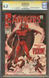 Avengers #57 CGC 6.5 ow CGC Signature SERIES