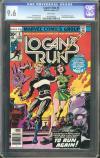 Logan's Run #6 CGC 9.6 w