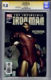 Iron Man #2 CGC 9.8 w CGC Signature SERIES