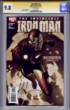 Iron Man #4 CGC 9.8 w CGC Signature SERIES
