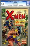 X-Men #38 CGC 9.4 ow/w