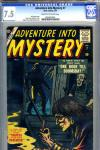 Adventure Into Mystery #7 CGC 7.5 cr/ow